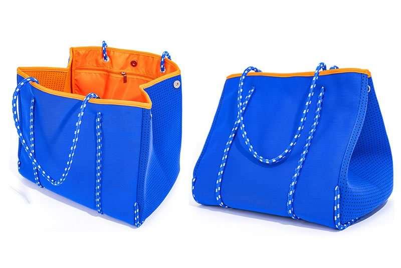 neorpene tote with inner bags